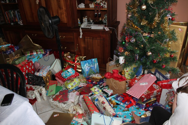 A ton of gifts ....