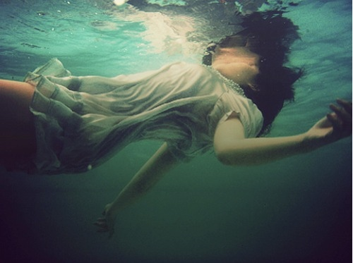 Image result for woman drowning sea sea