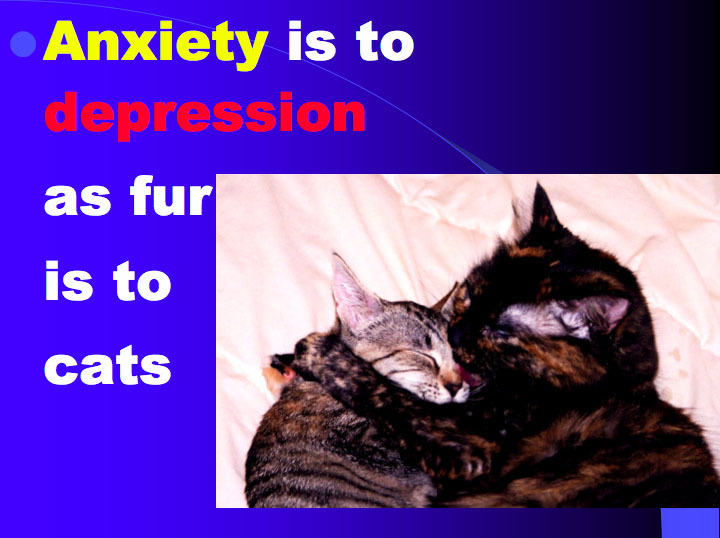 Difference between Anxiety and Depression - Vic's Final ...