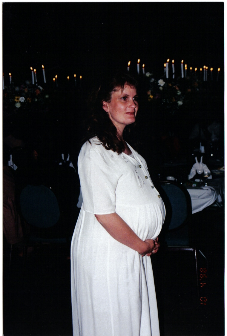 Pregnant with Jon-Daniel