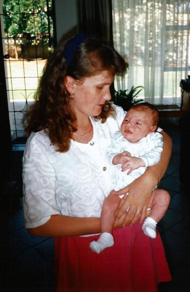 Jared and his Mommy