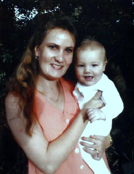 Jon-Daniel and his Mommy